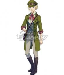 Ace Attorney Dai Gyakuten Saiban: Naruhodo Ryunosuke no Boken Gina Lestrade Cosplay Costume