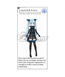Vocaloid Hatsune Miku Layered Envy Cosplay Costume