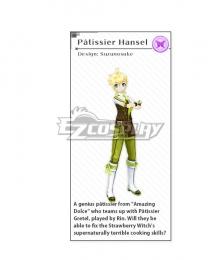 Vocaloid Kagamine Len Patissier Hansel Cosplay Costume