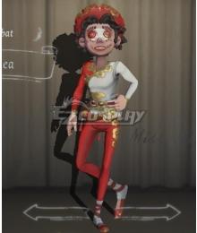 Identity V Acrobat Mike Morton Bohea Halloween Cosplay Costume