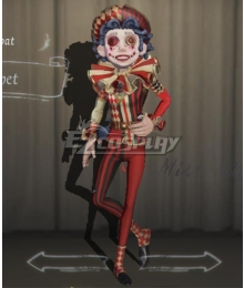 Identity V Acrobat Mike Morton Puppet Halloween Cosplay Costume