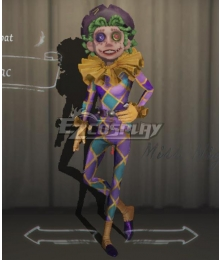 Identity V Acrobat Mike Morton Lilac Halloween Cosplay Costume