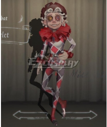 Identity V Acrobat Mike Morton Scarlet Halloween Cosplay Costume