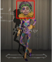 Identity V Acrobat Mike Morton Lilac Halloween Green Cosplay Wig