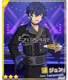 Ensemble Stars!!2 Jun Sazanami Conquest Outfit Cosplay Costume