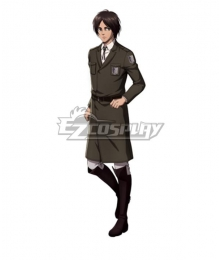 Attack On Titan Shingeki No Kyojin Eren Jaeger Tsutaya Cosplay Costume
