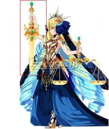 Fate Grand Order Ruler Astraea Sword Cosplay Weapon Prop