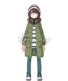 Laid-Back Camp Ayano Toki Cosplay Costume