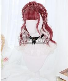 Japan Harajuku Lolita Series Black Tea Macchiato Cosplay Wig
