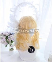 Japan Harajuku Lolita Series Seven Virtues Hope Golden Cosplay Wig