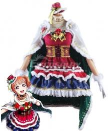 LoveLive! Sunshine!! Aqours Chika Takami Christmas Cosplay Costume