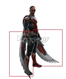 Marvel The Falcon and the Winter Soldier Sam Wilson Wings Cosplay Weapon Prop