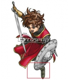 Dragon Quest Swords Hero Brown Shoes Cosplay Boots
