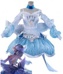 King Glory Honor of Kings Xiao Qiao Dream of Swan White Cosplay Costume