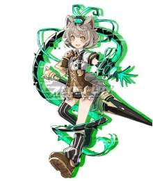 Death end re;Quest Al Astra Cosplay Costume