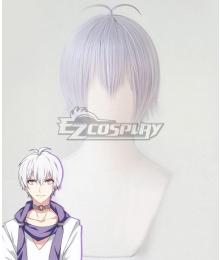 Idolish 7 Osaka Sogo White Cosplay Wig