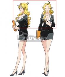 Heaven's Design Team Ueda Golden Cosplay Wig