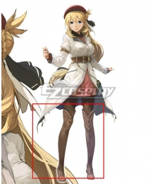 The legend of heroes: kuro no kiseki Female Protagonist Brown Shoes Cosplay Boots