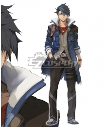 The legend of heroes: kuro no kiseki Male Protagonist  Silver Cosplay Shoes