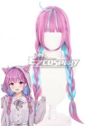 Hololive Youtuber Vtuber Aqua D Pink Cosplay Wig