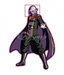 Super Dragon Ball Heroes Dark King Fu Silver Cosplay Wig