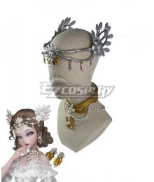Identity V Bloody Queen Mary Lady Bella Headwear Neckwear Cosplay Accessory Prop
