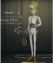Identity V Embalmer Aesop Carl Solemn White Halloween Cosplay Costume