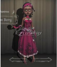 Identity V Enchantress Patricia Dorval Poison Berry Halloween Cosplay Costume
