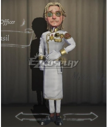 Identity V First Officer Jose Baden Basil Halloween Cosplay Costume