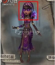 Identity V Enchantress Patricia Dorval Fate Black Halloween Cosplay Wig
