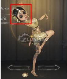 Identity V Female Dancer Margaretha Zelle Sanskrit Black Halloween Cosplay Wig