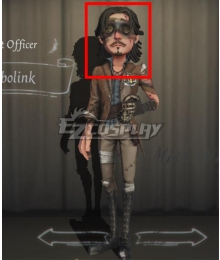 Identity V First Officer Jose Baden Bobolink Black Halloween Cosplay Wig
