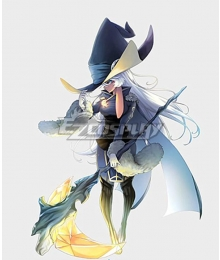 Witch Spring Black Luna Cosplay Costume