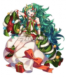 Fire Emblem Heroes Sothis Christmas Cosplay Costume