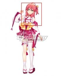 Hololive Youtuber Vtuber Sakura Miko Pink Cosplay Wig