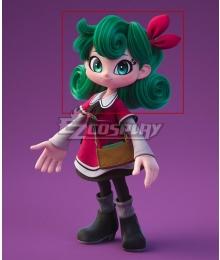 Balan Wonderworld Cass Green Cosplay Wig