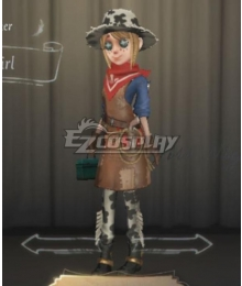 Identity V Gardener Emma Woods Cowgirl Halloween Cosplay Costume