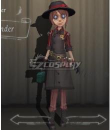 Identity V Gardener Emma Woods Commander Halloween Cosplay Costume
