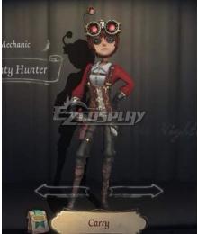 Identity V Mechanic Tracy Reznik Bounty Hunter Halloween Cosplay Costume