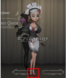 Identity V Perfumer Vera Nair Fragrance Queen Red Cosplay Shoes