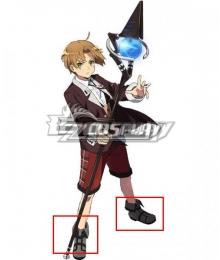 Mushoku Tensei: Jobless Reincarnation Rudeus Greyrat Grey Cosplay Shoes