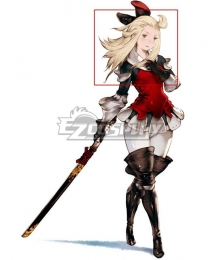 Bravely Default For the Sequel Edea Lee Golden Cosplay Wig