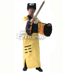 Taoist Priest Halloween Cosplay Costume