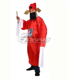 Hell Judge Halloween Cosplay Costume