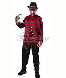 A Nightmare on Elm Street Freddy Krueger Halloween Cosplay Costume