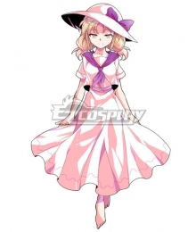 Touhou Project Luize Cosplay Costume