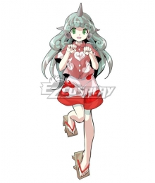 Touhou Project Komano Aunn Cosplay Costume