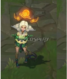League Of Legends LOL Shan Hai Neeko Cosplay Costume