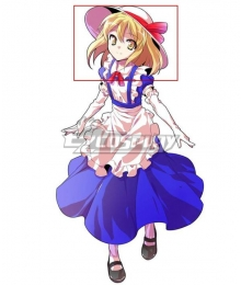Touhou Project Kana Anaberal Golden Cosplay Wig
