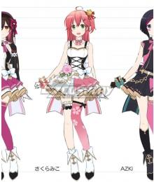 Holdlive Virtual YouTuber Sakura Miko Live Cosplay Costume